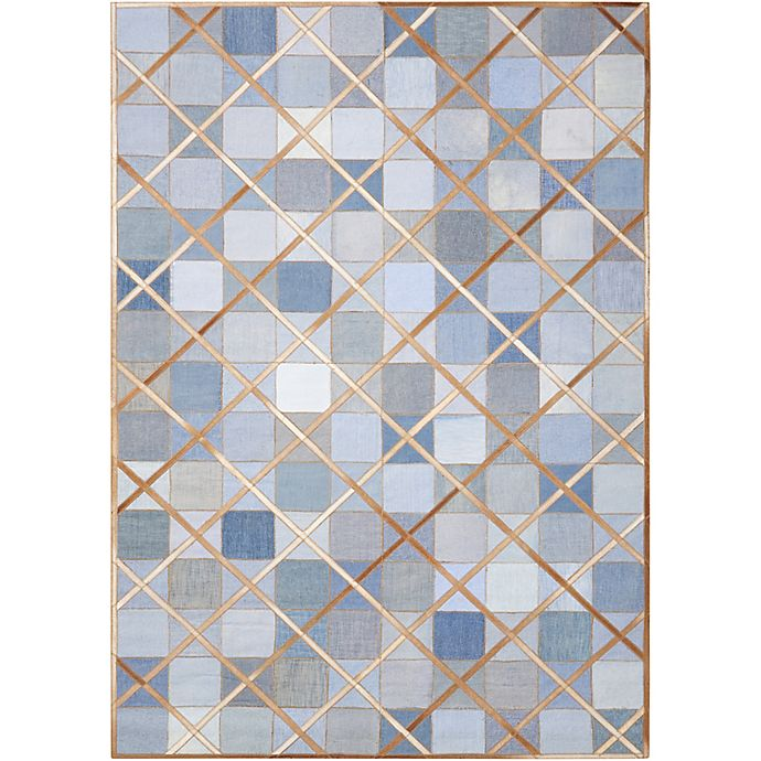 Alternate image 1 for Nourison Barclay Butera Cooper 8' x 11' Handmade Area Rug in Denim