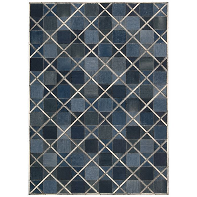 Alternate image 1 for Nourison Barclay Butera Cooper 8' x 11' Handmade Area Rug in Indigo