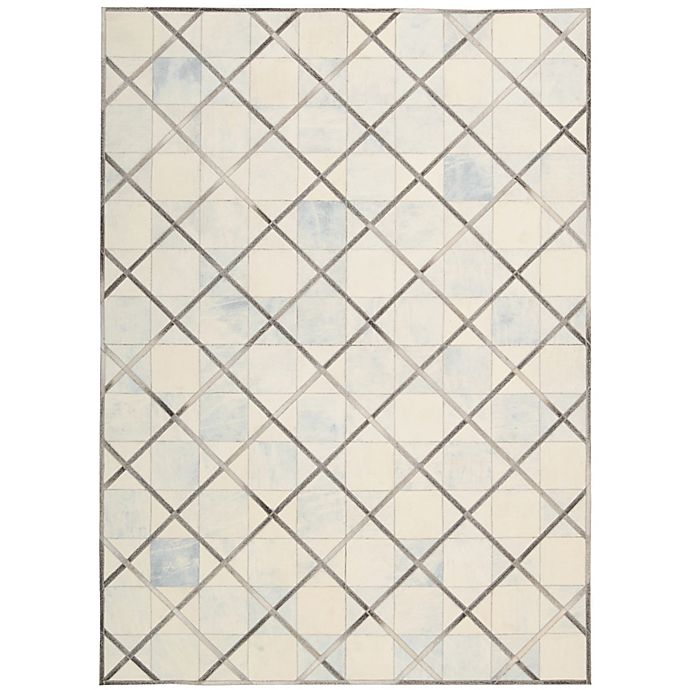 Alternate image 1 for Nourison Barclay Butera Cooper 8' x 11' Handmade Area Rug in Cloud