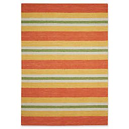 Barclay Butera Oxford Citrus Rug in Orange