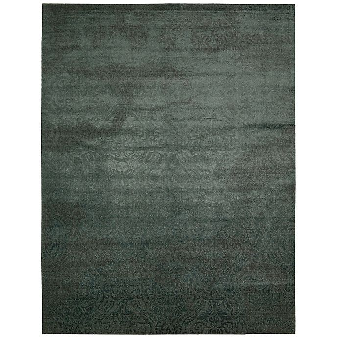 Alternate image 1 for Nourison Nightfall 12' x 15' Machine Woven Area Rug in Antique Green