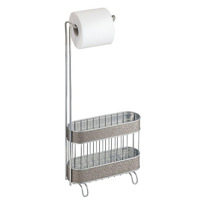 Idesign 174 Twillo Toilet Paper Holder And Magazine Rack