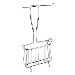 iDesign® Axis Toilet Paper Holder and Magazine Rack