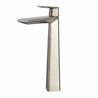Kraus® Aplos™ Single Control Bathroom Vessel Faucet in Brushed Nickel