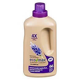 Ecomax 1.5-Liter 4X Hypoallergenic Laundry Detergent in Lavender