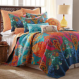 Levatex Home Madalyn Reversible Quilt Set