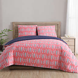 Clairebella™ Dreamcatcher Duvet Cover Set in Aqua/Pink