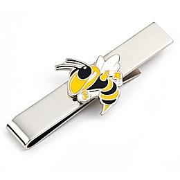 Georgia Tech University Silver-Plated and Enamel Tie Bar