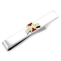 Iowa State University Silver-Plated and Enamel Tie Bar