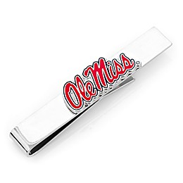 University Of Mississippi Silver-Plated and Enamel Tie Bar