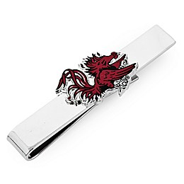 University of South Carolina Silver-Plated and Enamel Tie Bar