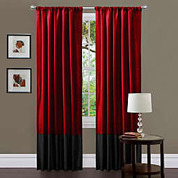 Red Curtain Panels Bed Bath Amp Beyond