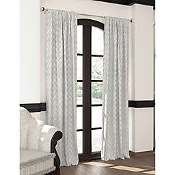Designers' Select™ 63-Inch Emerson Rod Pocket/Back Tab Window Curtain Panel in Silver