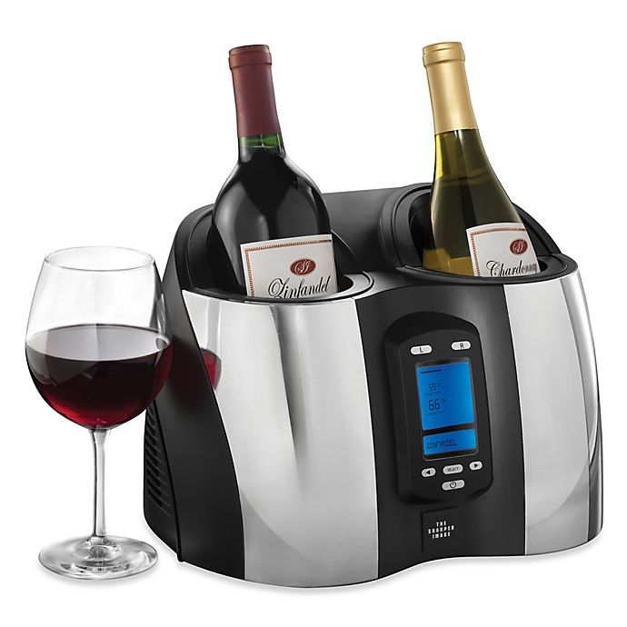 The Sharper Image Double Wine Chiller Bed Bath Beyond
