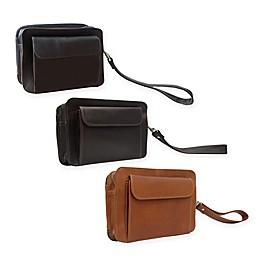 Piel® Leather 8.25-Inch Classic Organizer Bag