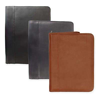 Piel® Leather 12.5-Inch Classic Zippered Padfolio