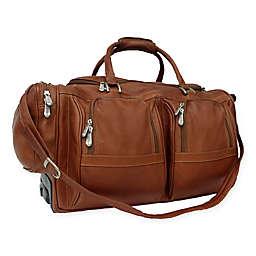 Piel® Leather Classic 20-Inch Rolling Duffel