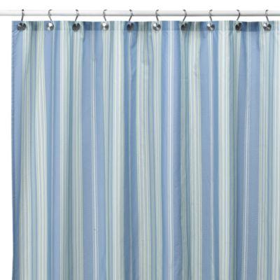 Baja Stripe Cape Cod 72 Inch X 72 Inch Fabric Shower
