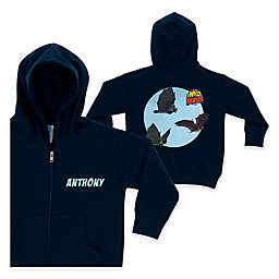 Wild Kratts™ Bat Flight Full-Zip Hoodie in Navy