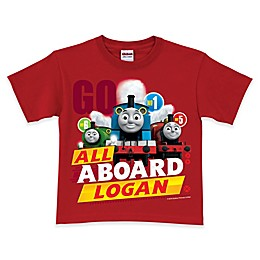 Thomas & Friends All Aboard Short Sleeve T-Shirt in Red