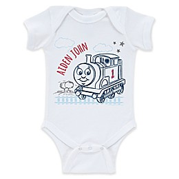 Thomas & Friends™ On the Tracks Bodysuit in White