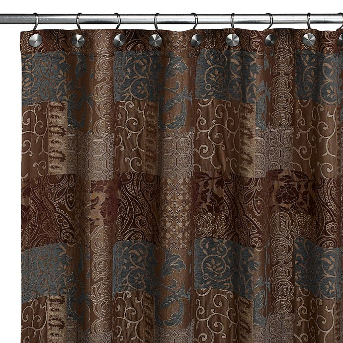 Galleria Fabric Shower Curtain By Croscill