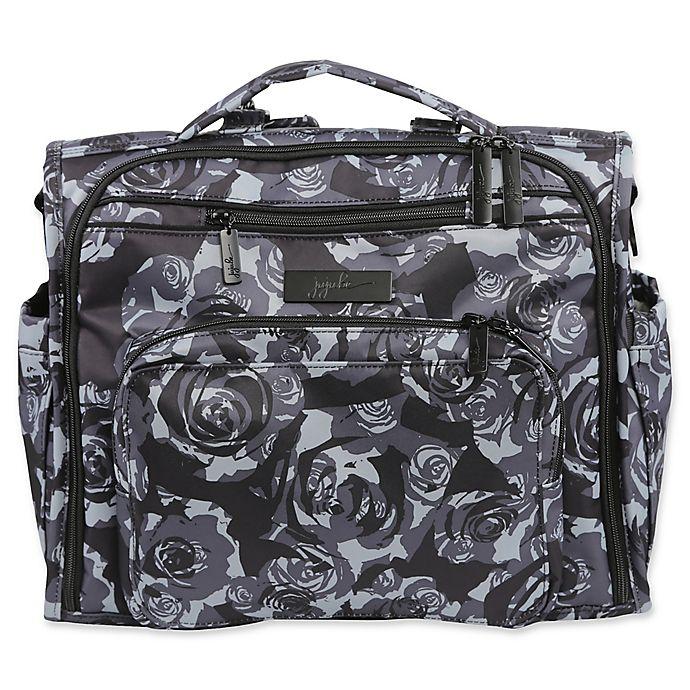 Ju Be Onyx B F Diaper Bag In Black Petals