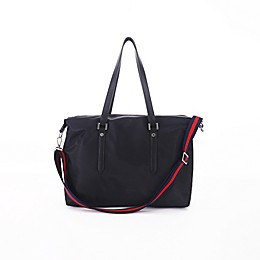 Perry Mackin Alexa Diaper Bag in Black