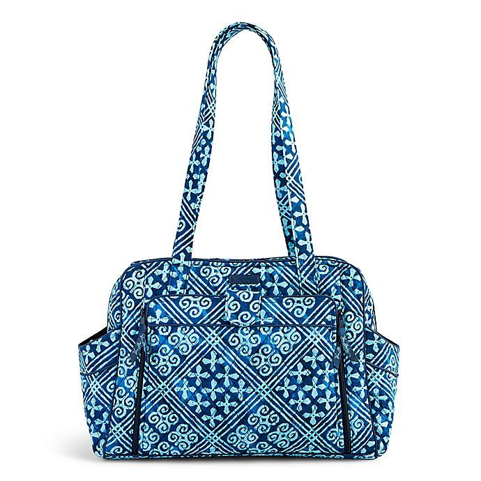 Vera Bradley 174 Stroll Around Diaper Bag In Cuban Tiles