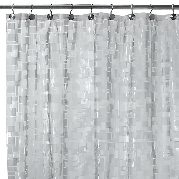 Alternate image 1 for Ice Cubes Vinyl 70-Inch W x 72-Inch L Shower Curtain