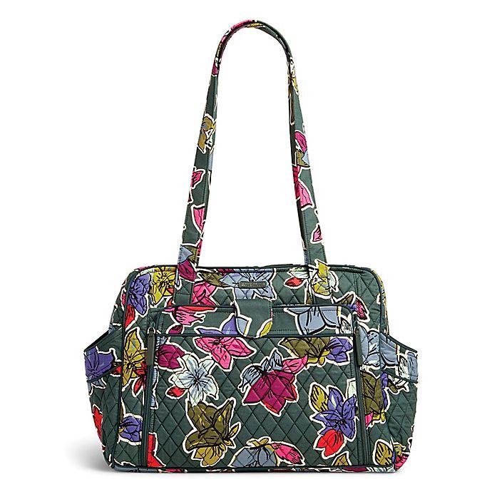 Vera Bradley 174 Falling Flowers Stroll Around Baby Bag Bed