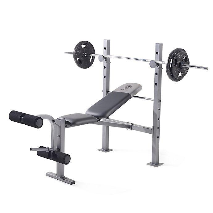 6680dda6191e Gold s Gym XR 6.1 Standard Weight Bench