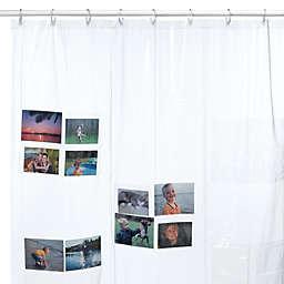 Shower Pics Vinyl Shower Curtain