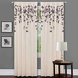 Nernia Light Filtering Rod Pocket Window Curtain Panel