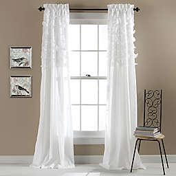 Avery 84-Inch Rod Pocket Window Curtain Panels (Set of 2)