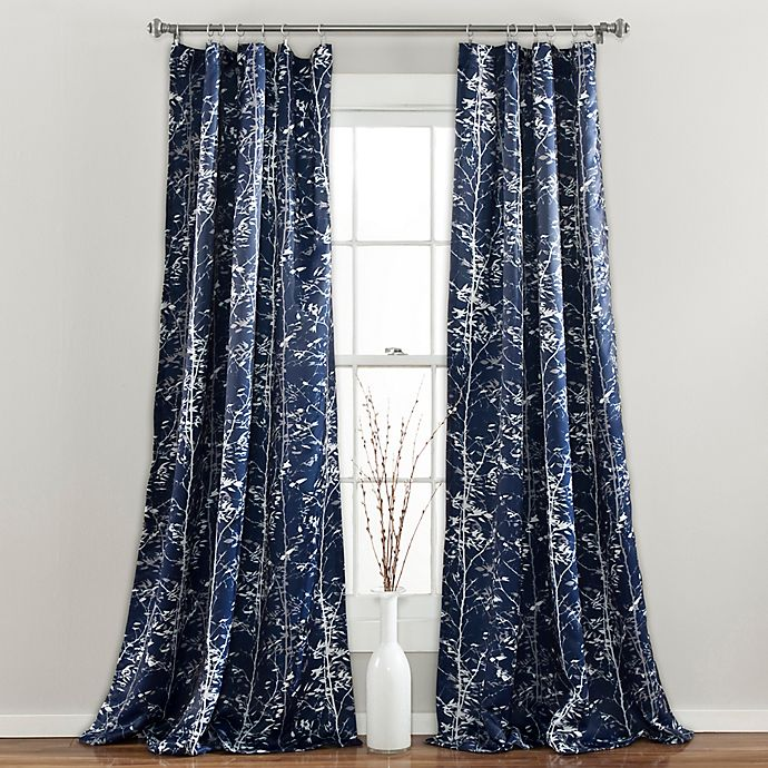 Alternate image 1 for Lush Décor Forest Rod Pocket Room Darkening Window Curtain Panel Pair