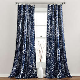 Lush Décor Forest Rod Pocket Room Darkening Window Curtain Panel Pair