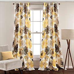 Leah Grommet Top Room Darkening Window Curtain Panel Pair