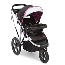 J is for Jeep Brand Adventure All-Terrain Jogging Stroller in Berry Tracks