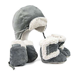 JJ Cole® 5-Piece Bomber Hat, Mitten, and Boot Set in Graphite