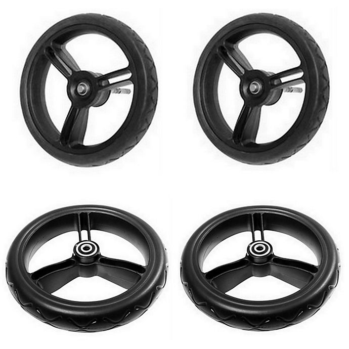 Alternate image 1 for Mountain Buggy® Duet Stroller Aerotech Wheels (Set of 4)