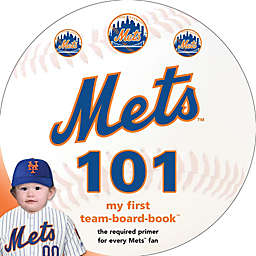 MLB New York Mets 101: My First Team-Board-Book