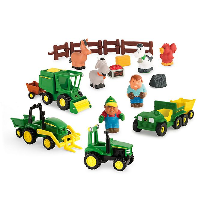 Alternate image 1 for John Deere First Fun on the Farm Play Set