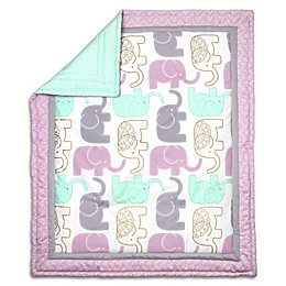 The Peanutshell™ Little Peanut Reversible Quilt in Lilac