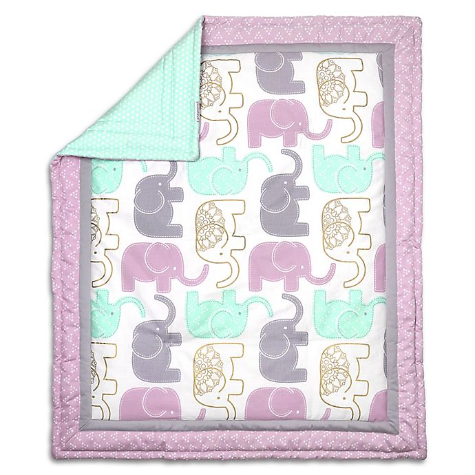 Alternate image 1 for The Peanutshell™ Little Peanut Reversible Quilt in Lilac