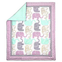 The Peanutshell ™ Little Peanut Reversible Quilt in Lilac