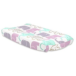 The Peanut Shell® Little Peanut Changing Pad Cover in Lilac