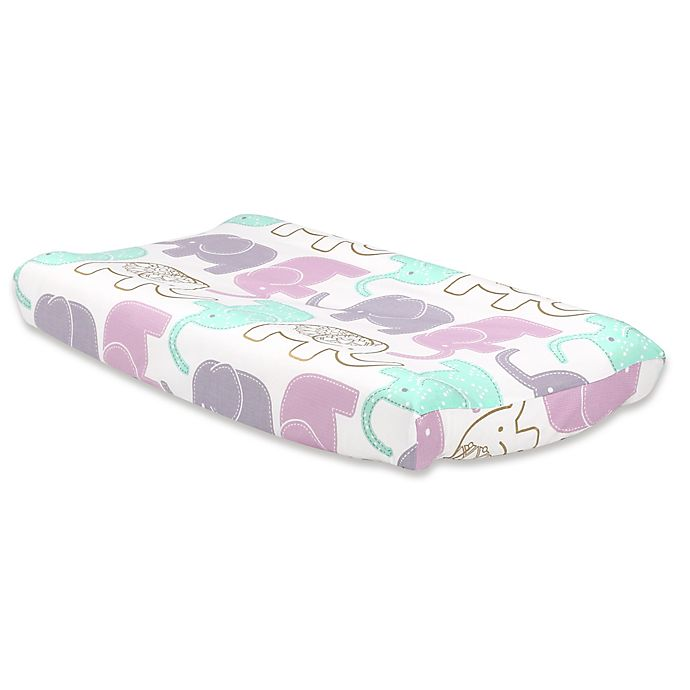 Alternate image 1 for The Peanut Shell® Little Peanut Changing Pad Cover in Lilac