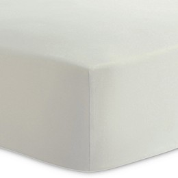 Kushies® Cotton Percale Fitted Crib Sheet