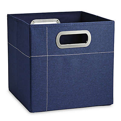 JJ Cole® 11-Inch Storage Box in in Navy